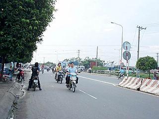 Thuận An Provincial city in Southeast, Vietnam