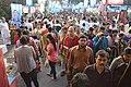 Durga Puja Spectators - Baghbazar Sarbojanin Durgotsav - Nivedita Park - Kolkata 2014-10-03 9305.JPG