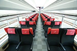 E259 series - Ordinary-class car interior