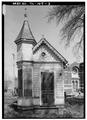 EAST (FRONT) ELEVATION - Handwerker Gingerbread Playhouse, 865 North Thomas Street, Memphis, Shelby County, TN HABS TENN,79-MEMPH,17-3.tif
