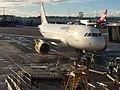 EC-JXV Airbus A319 Vueling (12253667283).jpg