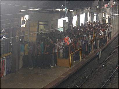 How to get to Edsa Lrt with public transit - About the place