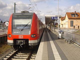 Rödermark-Ober-Roden station railway station in Rödermark, Germany