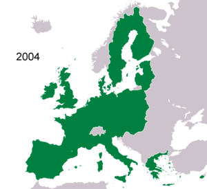 History of the European Union (1993–2004) - Membership from 2004