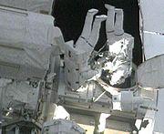 EVA2 STS129 Foreman Bresnik