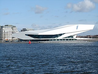 EYE Film Institute Netherlands Film archive, National museum, Art museum, History museum in Amsterdam, The Netherlands
