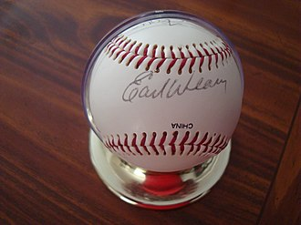 Earl Weaver - Weaver's signature, circa 1992–1993