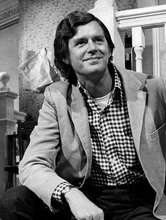 Earl Hamner Jr. - Hamner on the set of The Waltons in 1976
