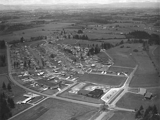 Cedar Hills, Oregon - Cedar Hills in its early years