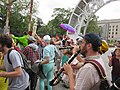 Easter Sunday in New Orleans - Brass Band Jam by Armstrong Arch 05.jpg