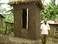 Eco-san - UDDT made from local materials, sw - Uganda (7980784993).jpg
