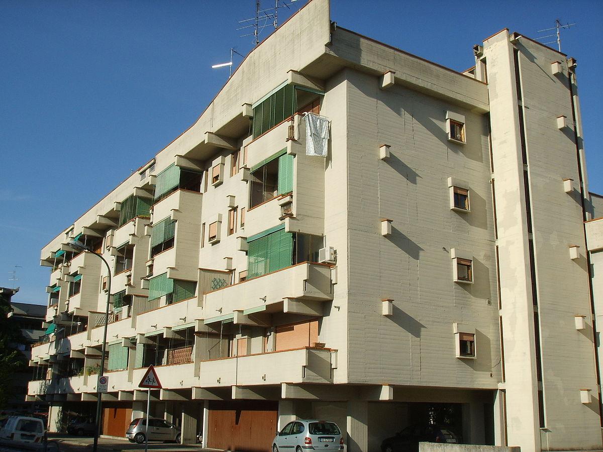 Edificio g del complesso di sorgane wikipedia for Piani di garage distaccati viventi del sud