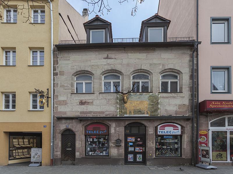 File:Edificio en Ludwigstr. 75, Núremberg, Alemania, 2013-03-17, DD 01.jpg