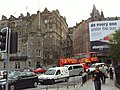 Edinburgh, Waverley Bridge and Market Street roundabout, January 2007.jpg