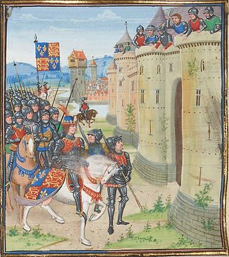 Anglo-Scottish Wars - English army at Berwick upon Tweed, 1482