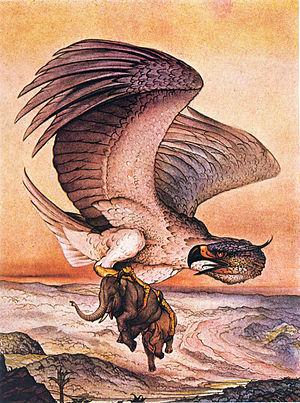 Roc (mythology) - Roc by Edward Julius Detmold
