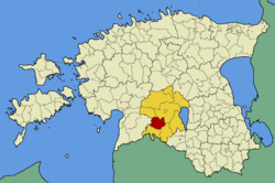 Halliste Parish within Viljandi County.