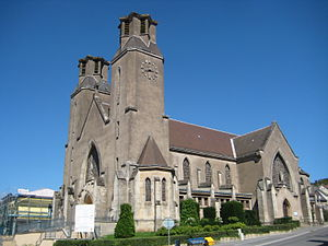 Audun-le-Tiche - Image: Eglise Audun Tiche 2