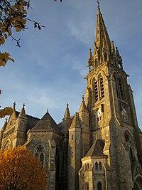 Eglise de Sainte-Cécile..JPG