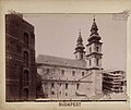 Egyetem tér és az Egyetemi templom a Királyi Pál utca felől néze, 1894 körül - Budapest, Fortepan 82400.jpg