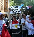 Egypt Uprising solidarity Melbourne protest, 30 January 2011 009.jpg