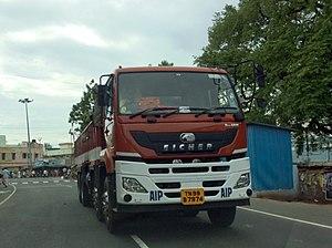 Eicher Motors - An Eicher Multi-Axle lorry