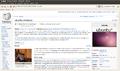 Ekrankopio-Ubuntu (linukso) - Vikipedio - Midori.png