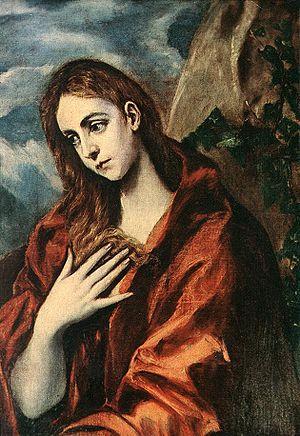El Greco- Penitent Magdalene