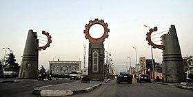El Mahalla El Kobra gate.JPG