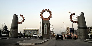 El Mahalla El Kubra City in Gharbia, Egypt