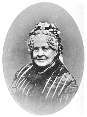 Billerica Public Library - Eleanor Bennett, library donor, ca.1883