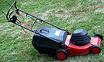 Electric lawn mower IMG 5496.JPG