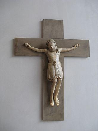 Kolumba - 12th-century ivory crucifix.