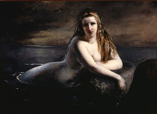 Elisabeth Jerichau Baumann - Havfrue 1863