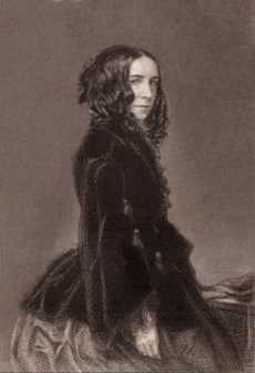 Elizabeth-Barrett-Browning, Poetical Works Volume I, engraving.png