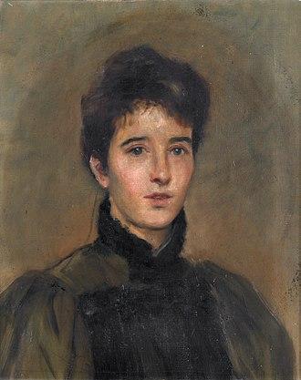 Elizabeth Yeats - Elizabeth Corbet 'Lolly' Yeats (John Butler Yeats, 1887)
