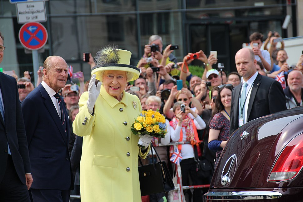 Elizabeth II in Berlin 2015