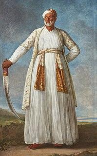 <i>Portrait of Muhammad Dervish Khan</i>