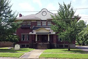 National Register of Historic Places listings in Lee County, Arkansas - Image: Elks Club 002