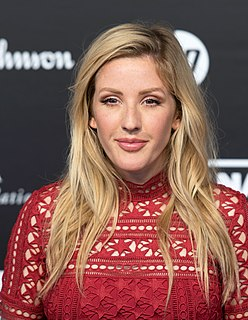 Ellie Goulding English singer and songwriter
