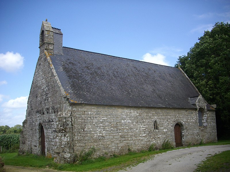 Saint Clement chapel in Elven (Morbihan, France)