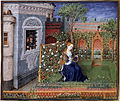 Emilia in the rosegarden (Teseida).jpg
