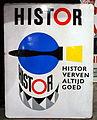Enamel advertising sign, Histor.JPG
