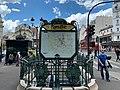 Entrée Station Métro Blanche Paris 1.jpg