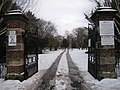 Entrance to East Cemetery - Darlington - geograph.org.uk - 1659431.jpg