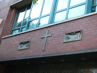 The New York Foundling Home is among North America's oldest adoption agencies Entrance to the New York Foundling Home.jpg