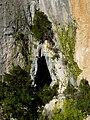 Entre la cova d'en Marc i el forat de la Vella P1070462.JPG