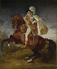 Portrait équestre de Jérôme Bonaparte