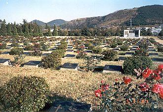 United Nations Memorial Cemetery - Image: Ereveld Tanggok