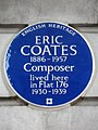 Eric Coates 1886-1957 Composer lived here in Flat 176 1930-39.jpg